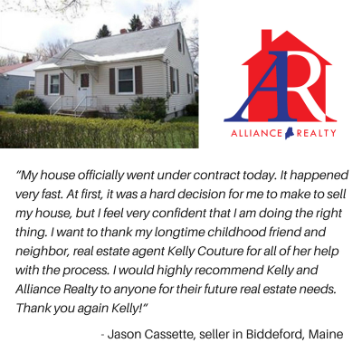 Happy Seller in Biddeford!
