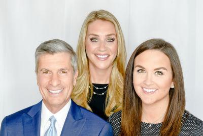 Tom Cali, Tracy Wagner & McKenzie Millward