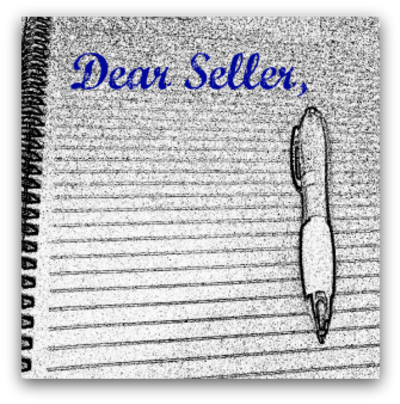 A Real Estate buyer letter to a seller