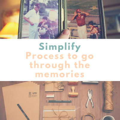 Simplify – Simple process to go through all the memories