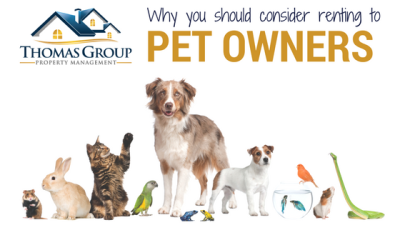 Why You Should Consider Renting to Pet Owners