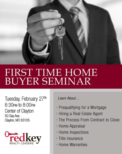 First Time Homebuyers Seminar