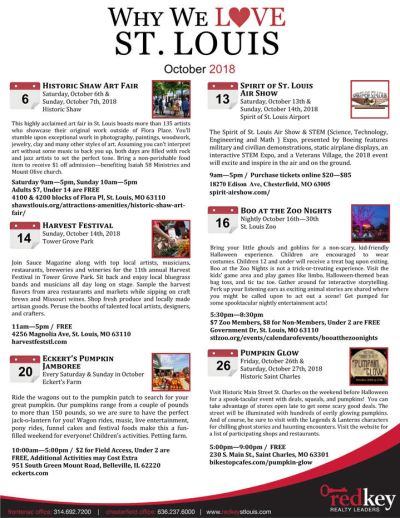 Events in October St. Louis
