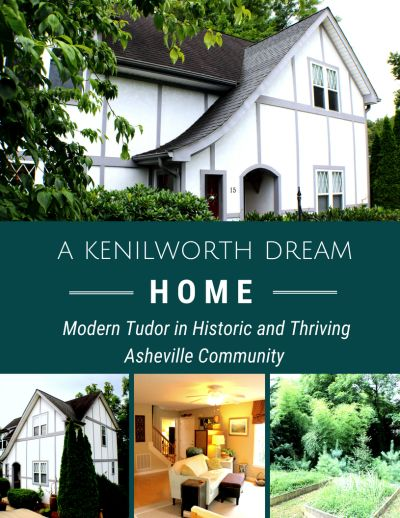 Just Listed: Modern Tudor in Historic Kenilworth!