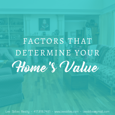 Factors that Determine Your Home's Value