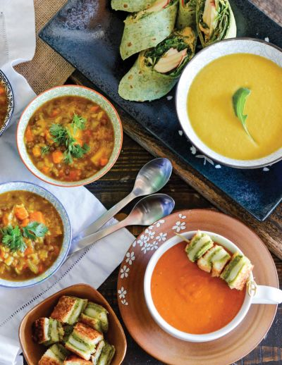 Elevated Soup and Sandwich Recipes That Delight