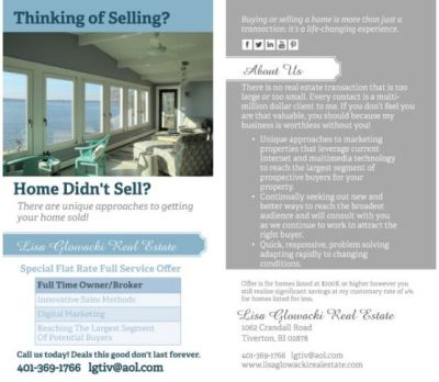 Special Offer for Home Sellers – Limited Time
