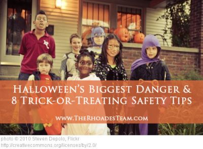 Halloween's Biggest Danger and 8 Trick-or-Treating Safety Tips