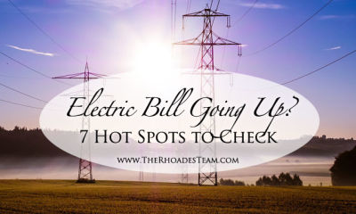 Electric Bill Going Up? Here are 7 Hot Spots to Check
