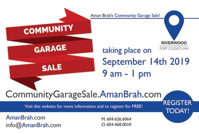 Community Garage Sale 2019