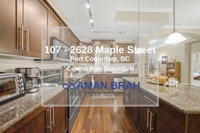 107 – 2628 Maple Street, Port Coquitlam BC – Central Port Coquitlam