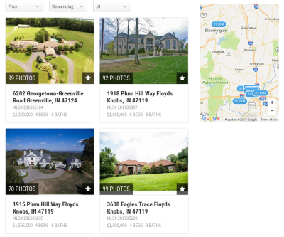 Most Expensive Southern Indiana Homes for Sale