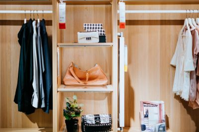 Staging a Small Closet
