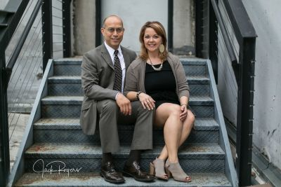 Mark and Nikki Monroy