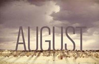 August newsletter….