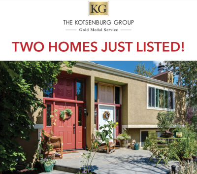 Two Homes Just Listed – Both at $549,000!