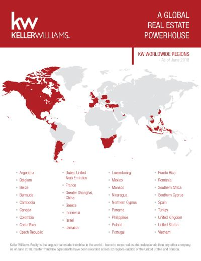 Keller Williams continues to grow around the world!