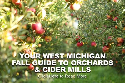 YOUR WEST MICHIGAN FALL GUIDE TO ORCHARDS & CIDER MILLS