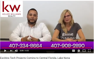NEW PROJECT ANNOUNCEMENTS FOR CENTRAL FLORIDA