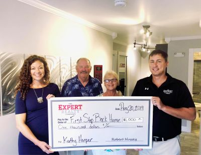 Expert Realty Donates to First Step Back Home