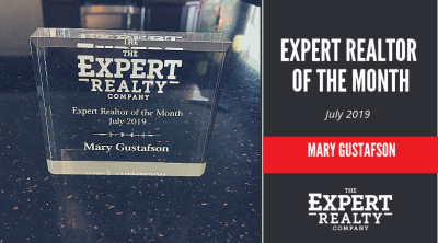 Mary Gustafson July Realtor of the Month