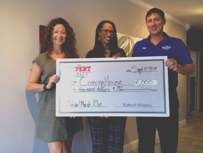 Expert Realty Donates to The Covering House