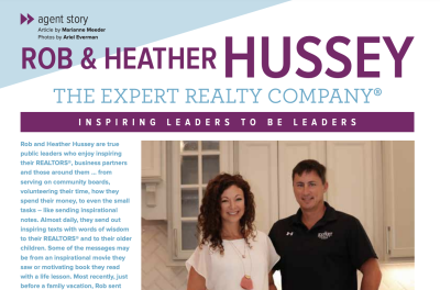 Rob & Heather Hussey Featured in St. Louis Real Producers