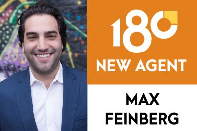 One80 Welcomes Max Feinberg to the Team!