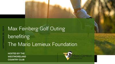 2nd Annual Max Feinberg Golf Outing benefiting The Mario Lemieux Foundation