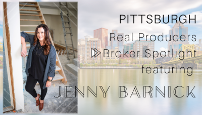 PITTSBURGH Real Producers Broker Spotlight Features Jenny Barnick