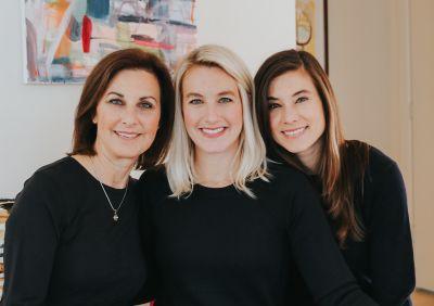 Diana, Laura & Lindsay Duncan