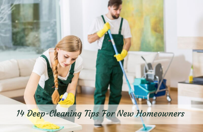 14 Deep-Cleaning Tips For New Homeowners