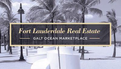 Fort Lauderdale Real Estate - Galt Ocean Marketplace