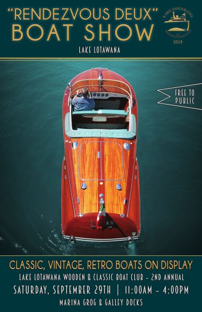 "Lake Lotawana's 2nd Annual ""Rendesvoux Deux"" Boat Show"