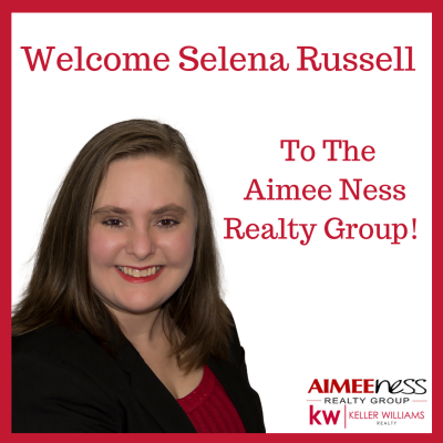Welcome Selena to The Aimee Ness Realty Group Keller Williams