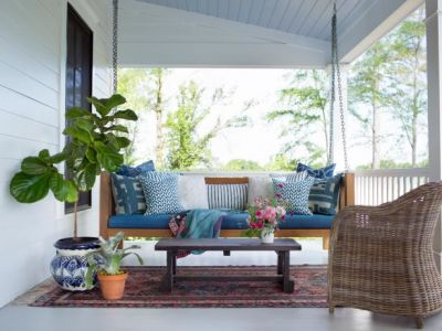 Room of the week: Prepping the Porch!
