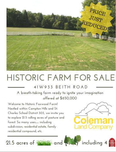 Historic Farm for Sale