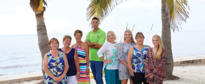 The Island Team - Michelle Finley, Brian Faro, Melissa Mutkoski, Anita Gross, Becky Cole, Amber Craft,  Kendal Canonico, and Debi Harman