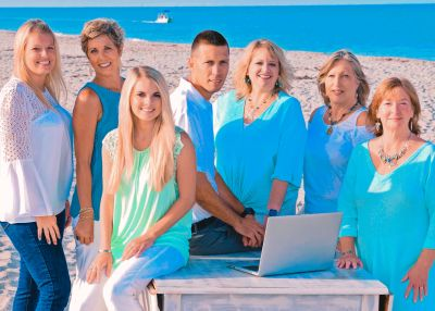 The Island Team - Michelle Finley, Brian Faro, Melissa Mutkoski, Anita Gross, Becky Cole, Amber Craft,  & Kendal Canonico