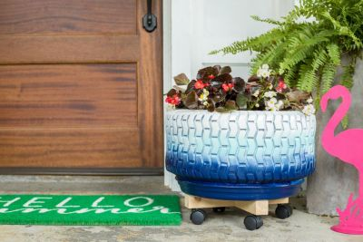 3 Oversized Planters You Can Make From Upcycled Items