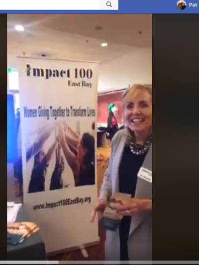 Pat Burgess Joins East Bay Women's Conference – Impact 100