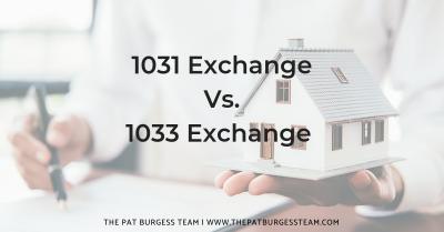 1031 Vs 1033 Exchange Explained