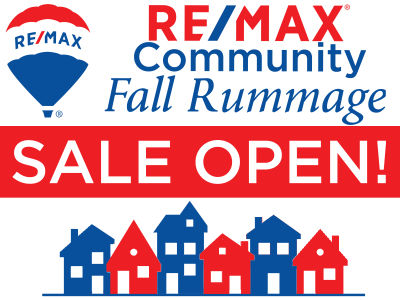 RE/MAX Community Fall Rummage Sale Lists & Map