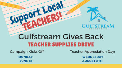 Teacher Supplies Drive
