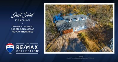 Just Sold ~ 22340 Bracketts Rd, Excelsior for $750,000