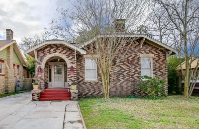 Large Tudor Revival Bungalow in Galveston Now Available
