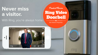 Ring Video Doorbell Review – By Don Harkins Properties