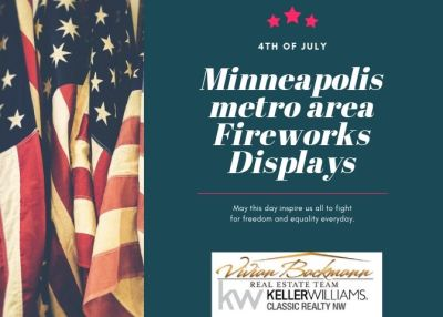 Fireworks Displays 2019 – Minneapolis Metro area