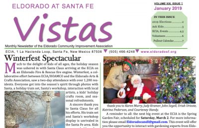 January Vistas Community Newsletter Now Available