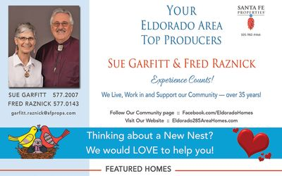 Have you seen our ad in the February issue of Eldorado Living?